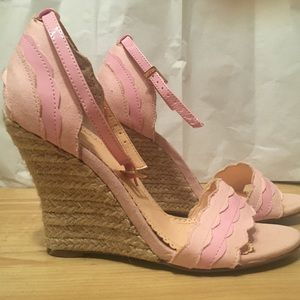 Light pink wedges by Madison by Shoedazzle